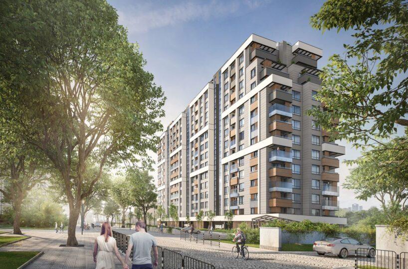 Двустаен апартамент в нова модерна сграда с контрол на достъпа
