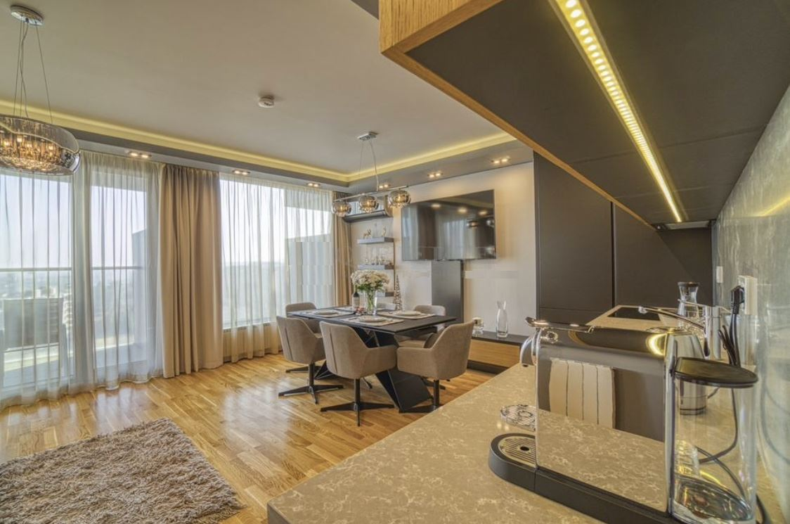 Luxury one-bedroom apartment for sale in a perfect building in South Sofia