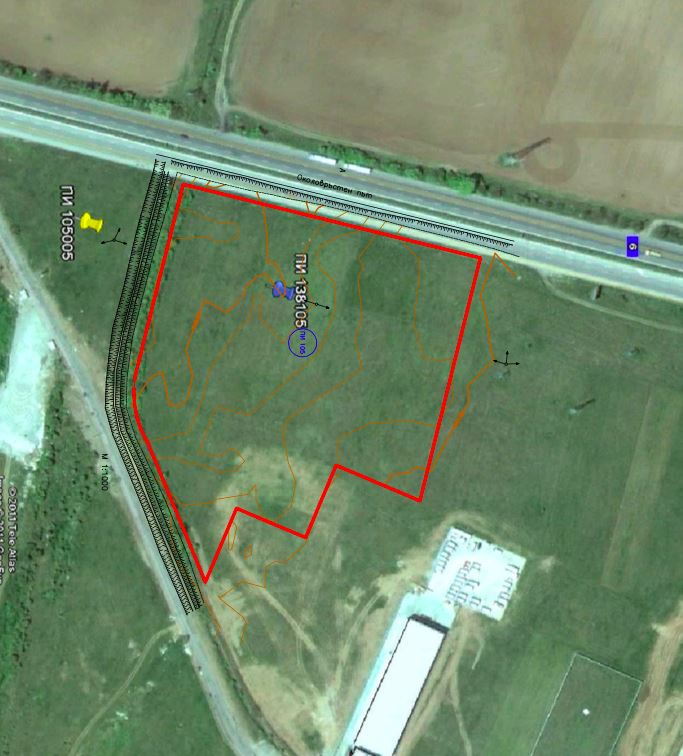 Plot of land in Industrial area with face on Ring Road