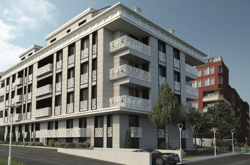 Двустаен апартамент в модерна нова сграда в кв.Бъкстон за продажба