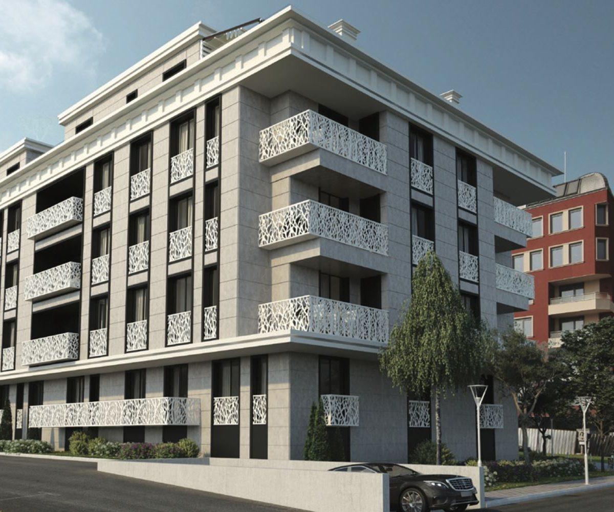 тристаен апартамент в малка жилищна сграда в кв.Бъкстон